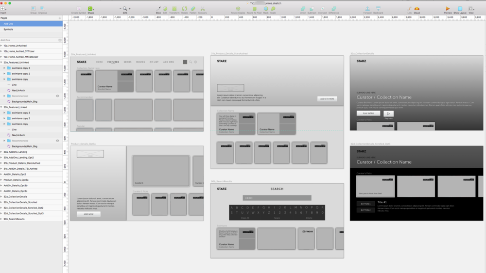 . . . are translated into the building blocks for wireframes . . .