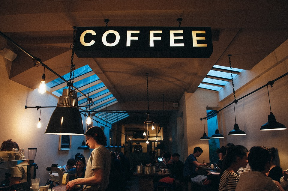Coffee shops are becoming a popular social trend for Millennials