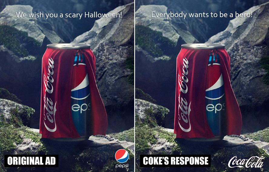 Coke vs. Pepsi Ad