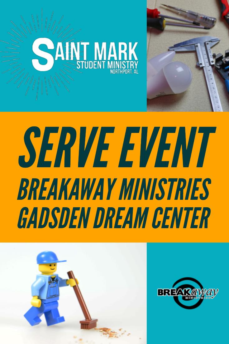 serve event gadsden dream center