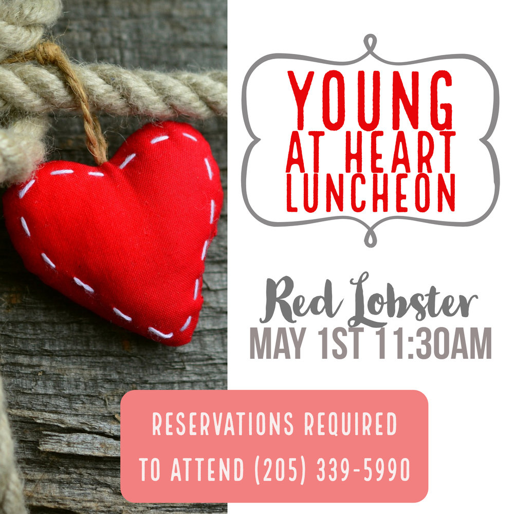 young at heart luncheon
