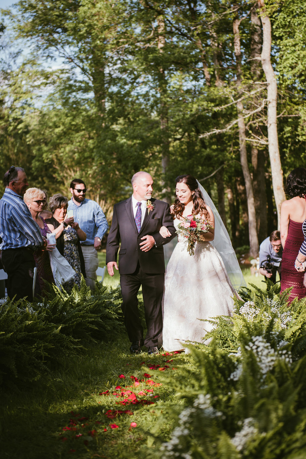 Raleigh Wedding Photographer - Backyard Wedding - North Carolina Wedding Photographer