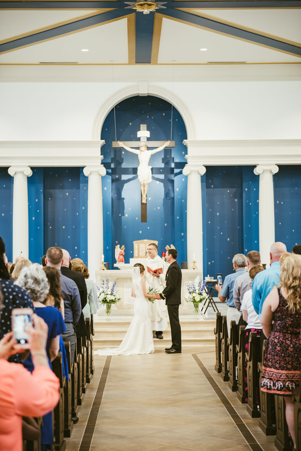 Raleigh Wedding - Raleigh Wedding Photographer - North Carolina Wedding Photographer - St. Luke's Wedding Raleigh