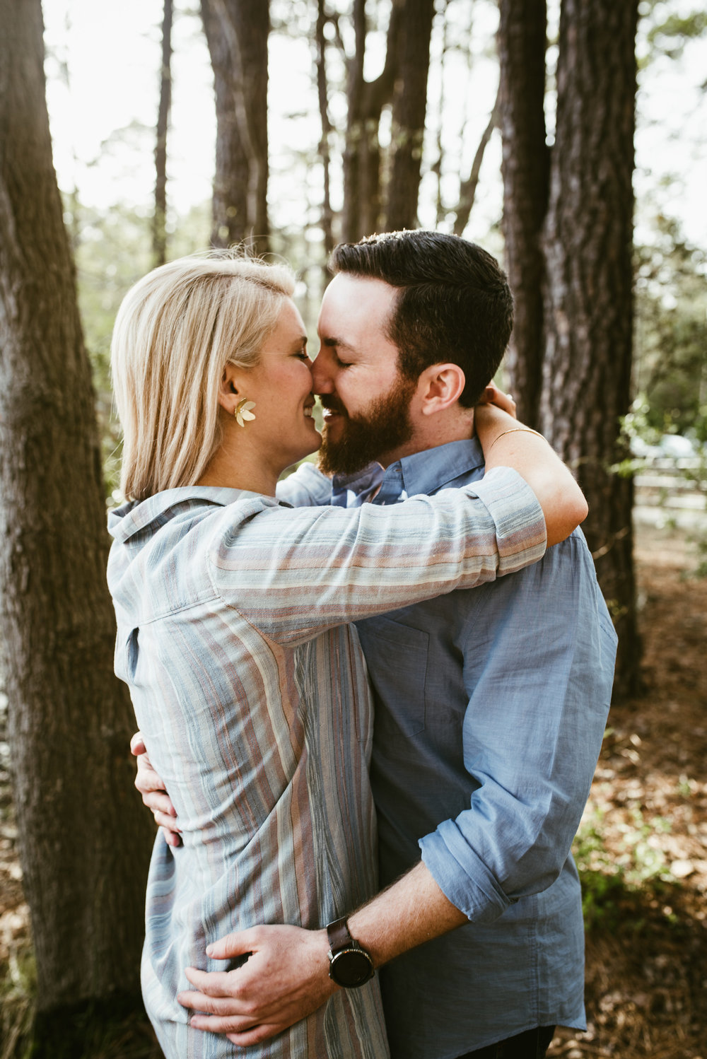 Downtown Raleigh Engagement - Lifestyle Engagement Session - Crank Arm Brewery Engagement Session - Lake Johnson Park Engagement Session