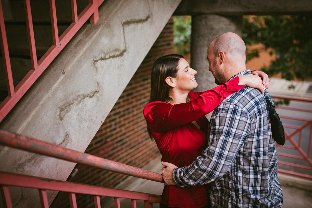 raleigh engagement - raleigh photographer - raleigh wedding photographer - downtown raleigh engagement