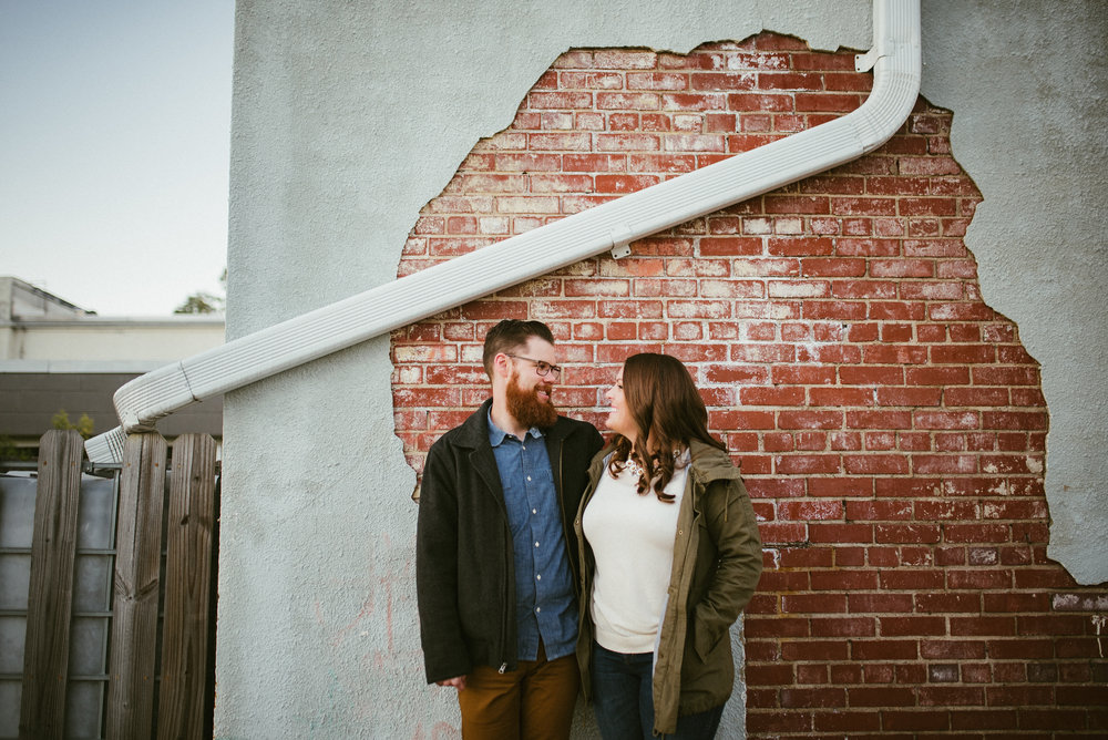 durham engagement - durham wedding photographer - downtown durham engagement - raleigh photographer