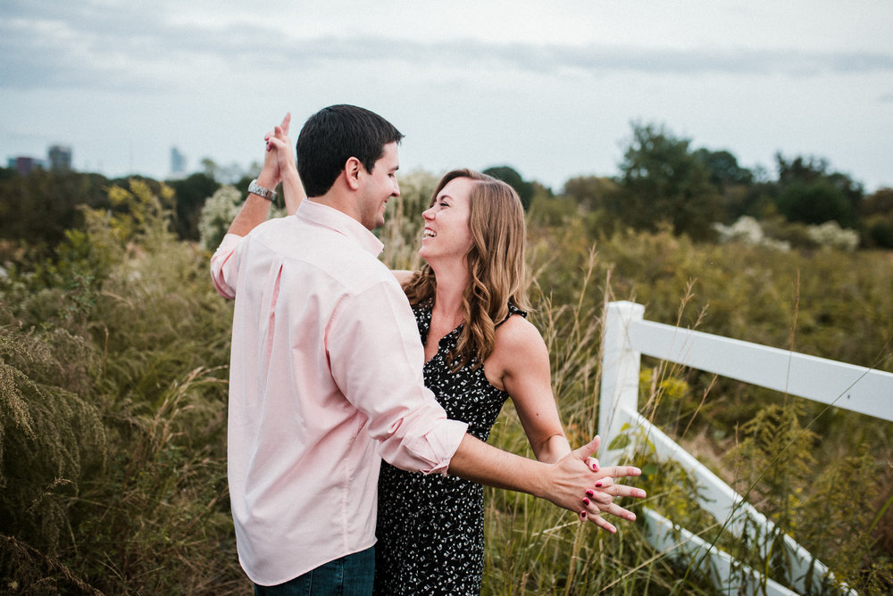 raleigh photographer - raleigh engagement - dorthea dix park - dorthea dix engagement