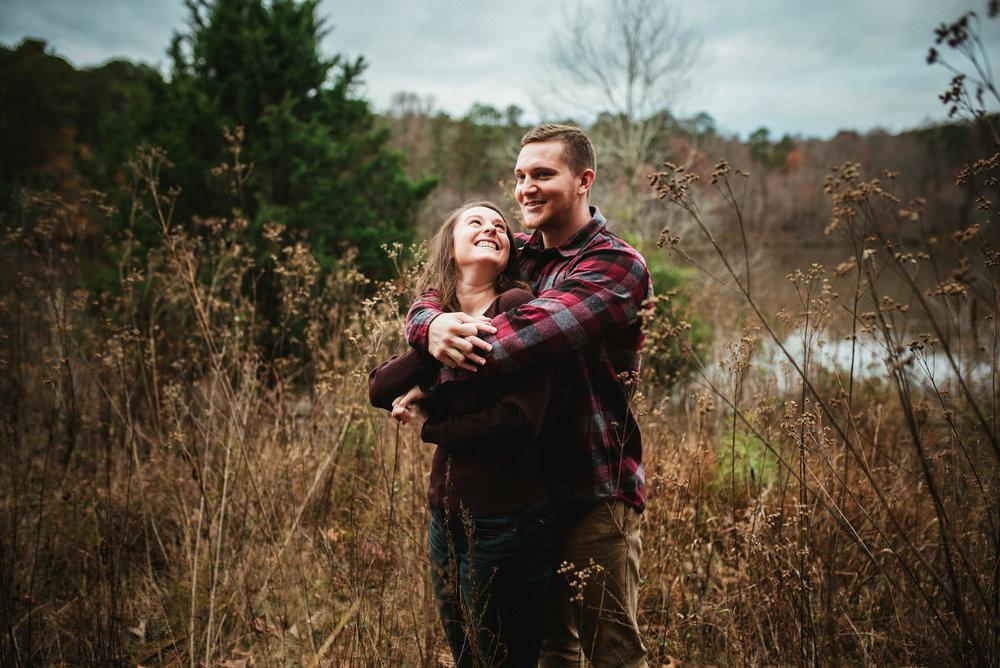 Raleigh Engagement - Raleigh wedding photographer - raleigh photographer - fall raleigh session