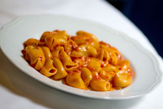 Carbone's Spicy Rigatoni -