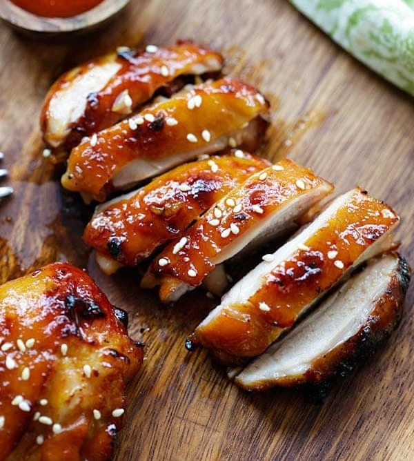 Beyonce - Honey Sriracha Chicken