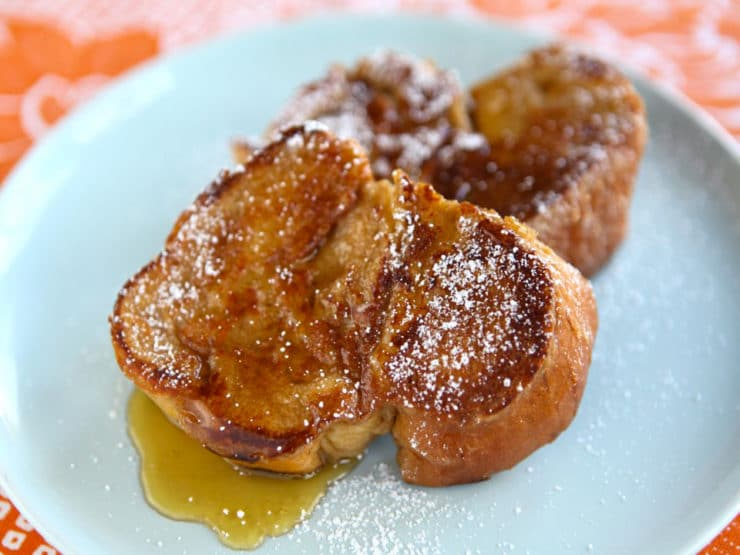 Breakfast - Challah French Toast