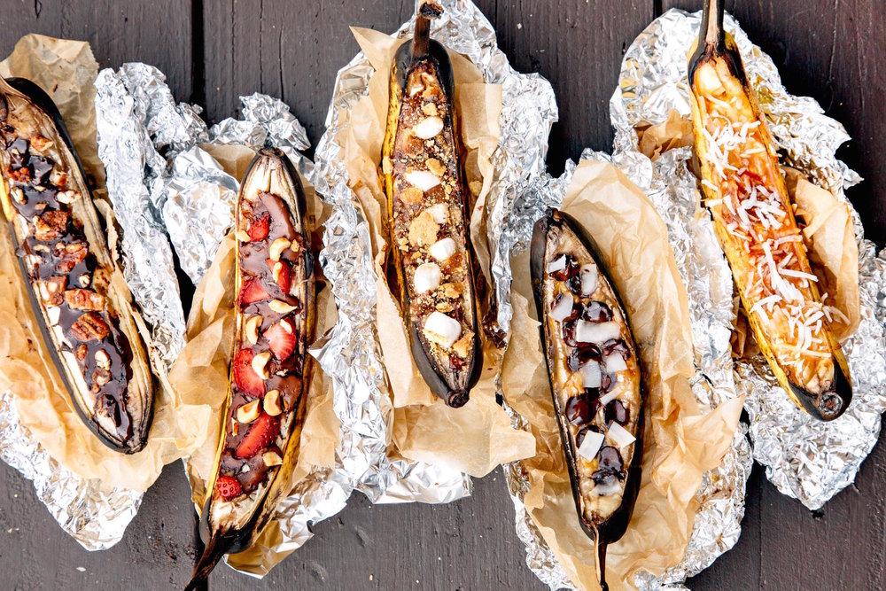 Dessert - Banana Boats