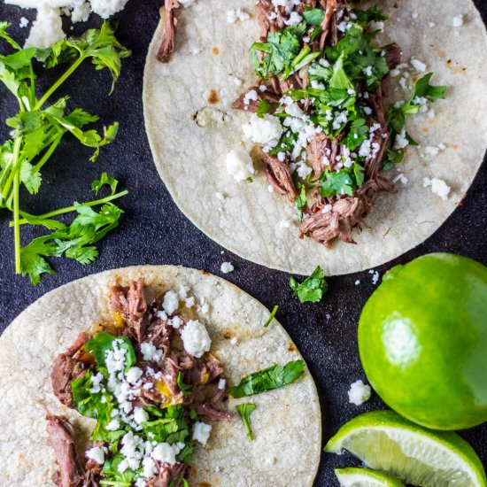 Skirt Steak Street Tacos -