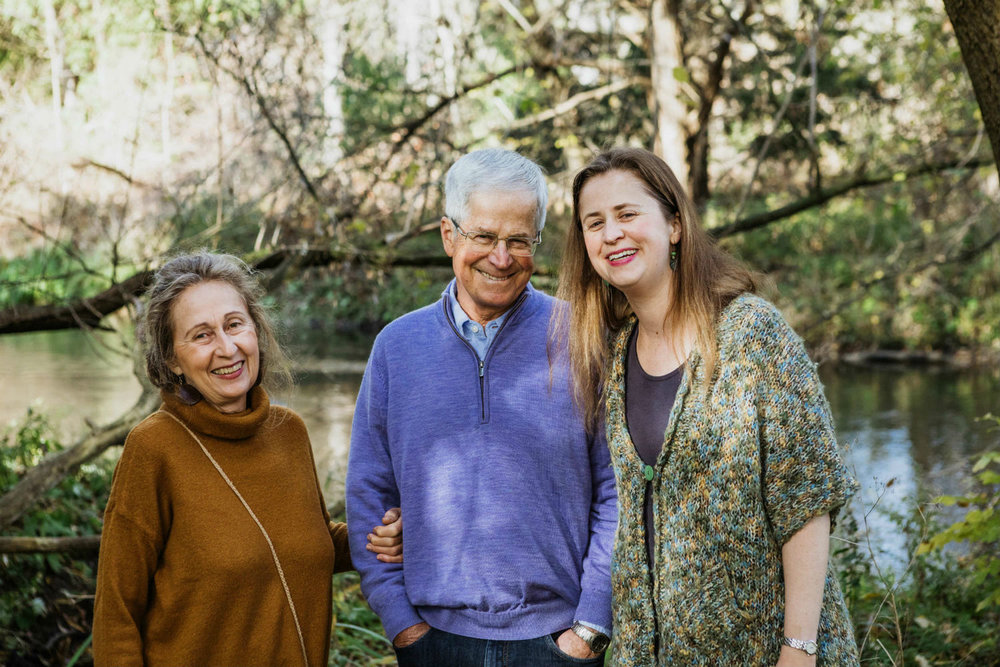 I am grateful to have grown up in a nurturing home on the banks of the Rouge River with my parents, Moira and Tim, as my guides. It's this magical place that has helped to shape my business.