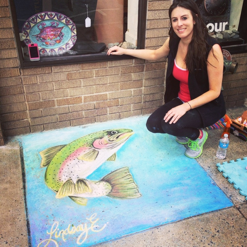Downtown Frederick Sidewalk Art Competition 2015