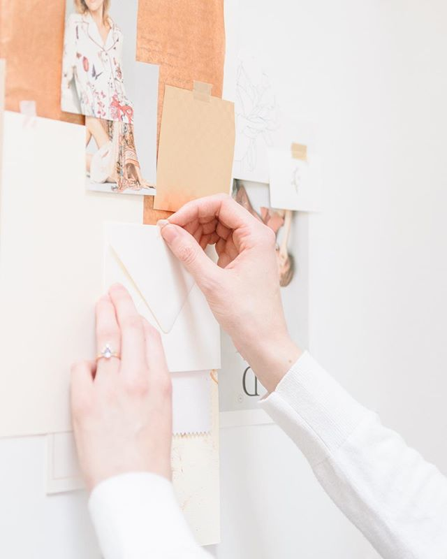 I'm working away on writing a series of blog posts on the design process I use - whether it's designing a brand, website, stationery suite, and most everything else. Shoot me a DM or leave a comment below if you have any current questions about this topic! Chances are that if you're wondering it, others are too! 💕