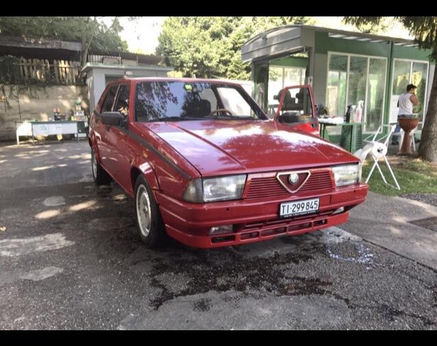 La Terza Bimba di Marco - Alfa 75 Turbo prima serie 1986