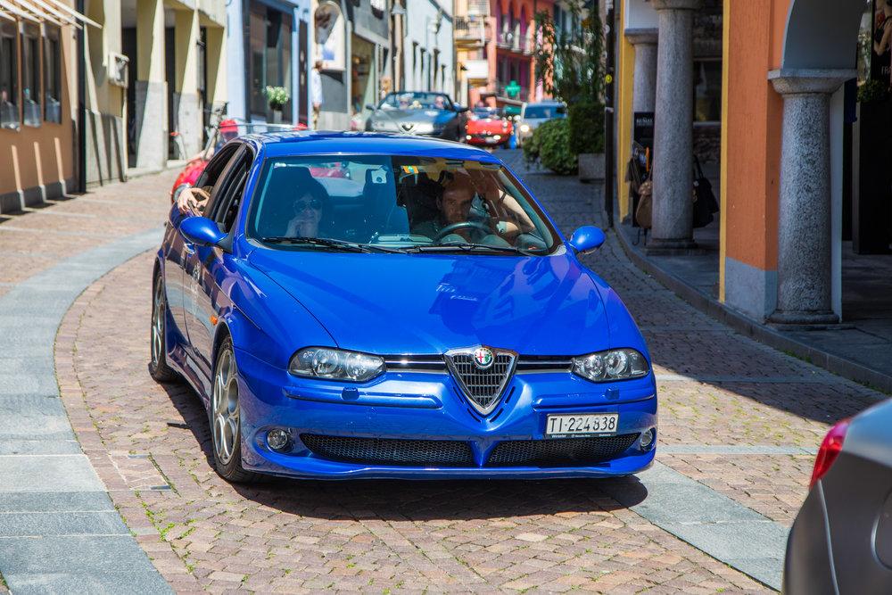 La Gazzella di Graziano - Alfa Romeo 156 GTA, da Aquila