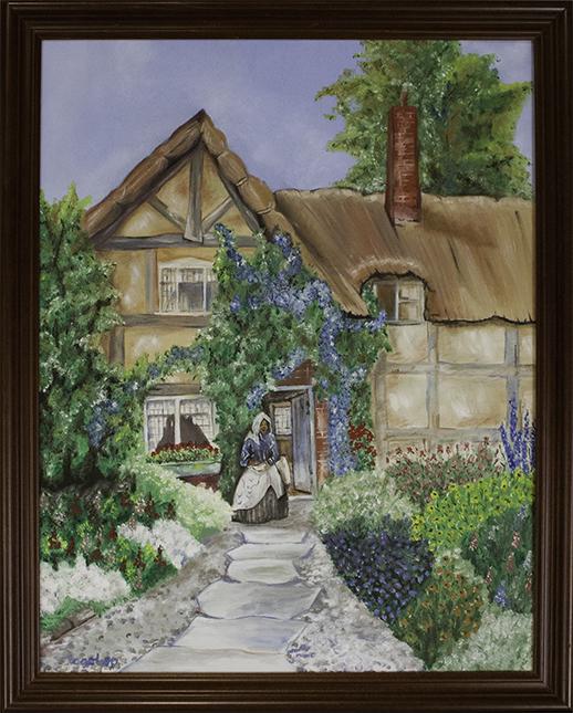 Anne Hathaway's cottage.