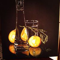 Still life of glass and lemons.jpg