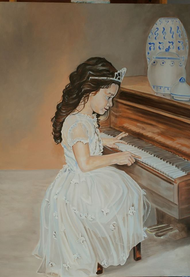 """Princess and piano"""