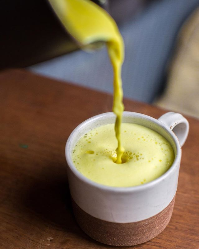 How do you use our Organic Golden Turmeric Ghee? It's kinda niche but very versatile, have you tried a Turmeric latte ? Use milk or milk alternative such as Almond milk, add a pinch of black pepper and possibly a pinch of cinnamon. We find that the ghee has such a creamy taste that no sweetener is required making it a perfect low sugar, non caffeine pick me up and warming drink. Warm it up and then froth ( not quite so frothy with non dairy milk) but very delicious 😋 #ghee #goldenghee #turmeric #goldenmilk #goldenlatte #turmericlatte #keto #ketodiet #ayurveda #ayurvedic