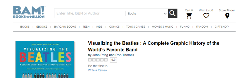 →  Click here to buy Visualizing The Beatles from Books-A-Million