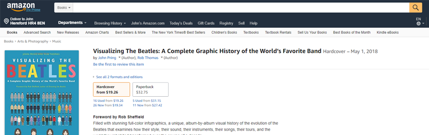 →  Click here to buy Visualizing The Beatles from Amazon