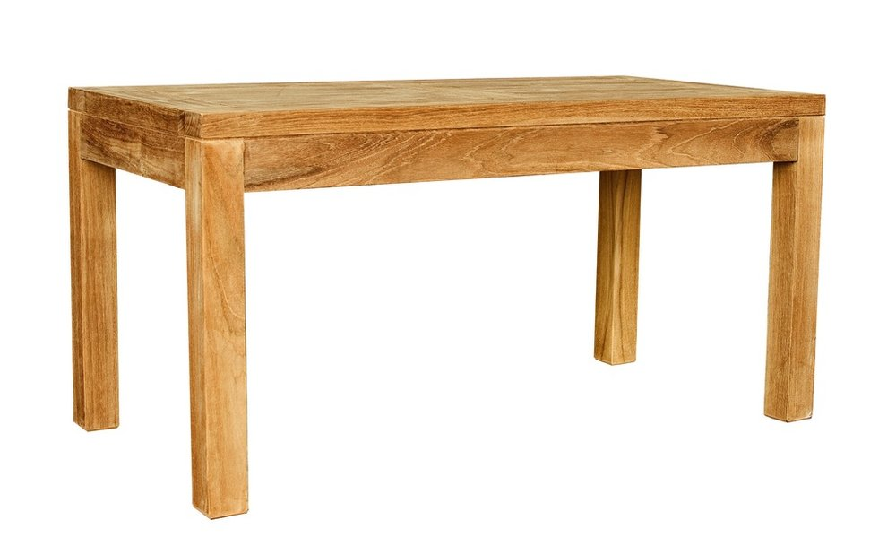 "Outdoor Coffee Table - $225  Dimensions: 36"" x 18"" x 20""  Plantation Teak - Indonesia"