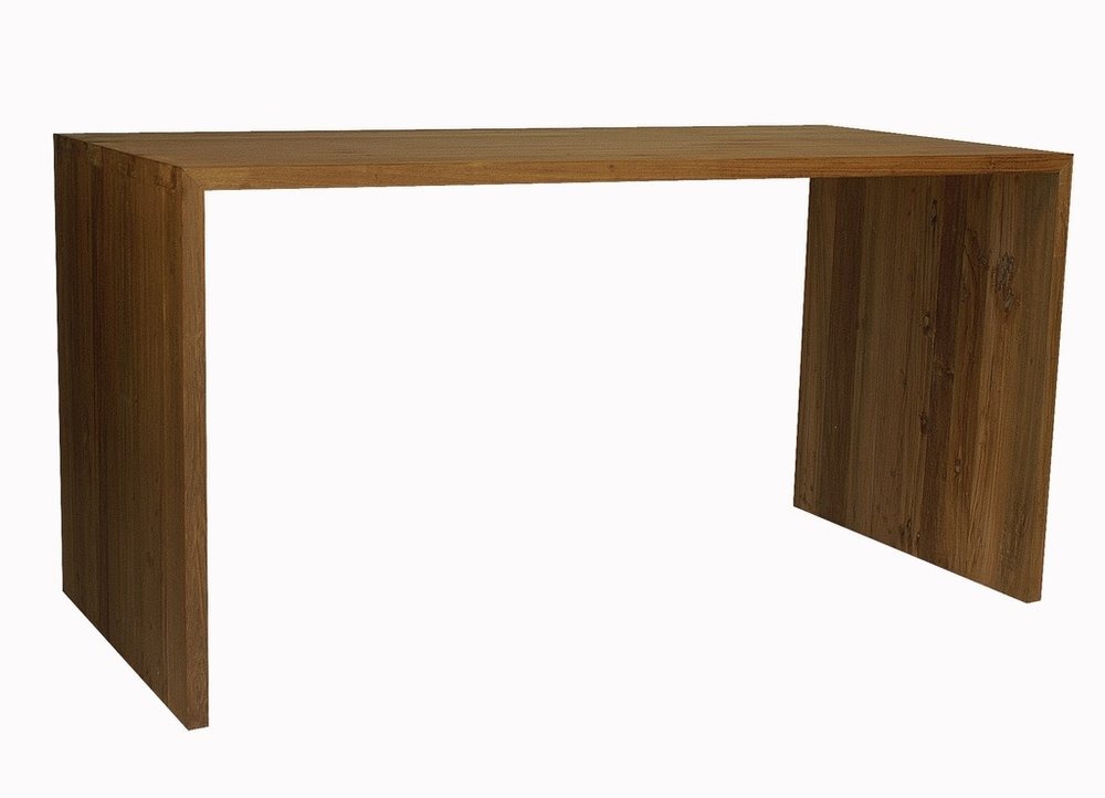 """Simple Bench - $ 540.00  Dimensions: 60"""" x 16"""" x 18""""  Reclaimed Teak - Indonesia"""