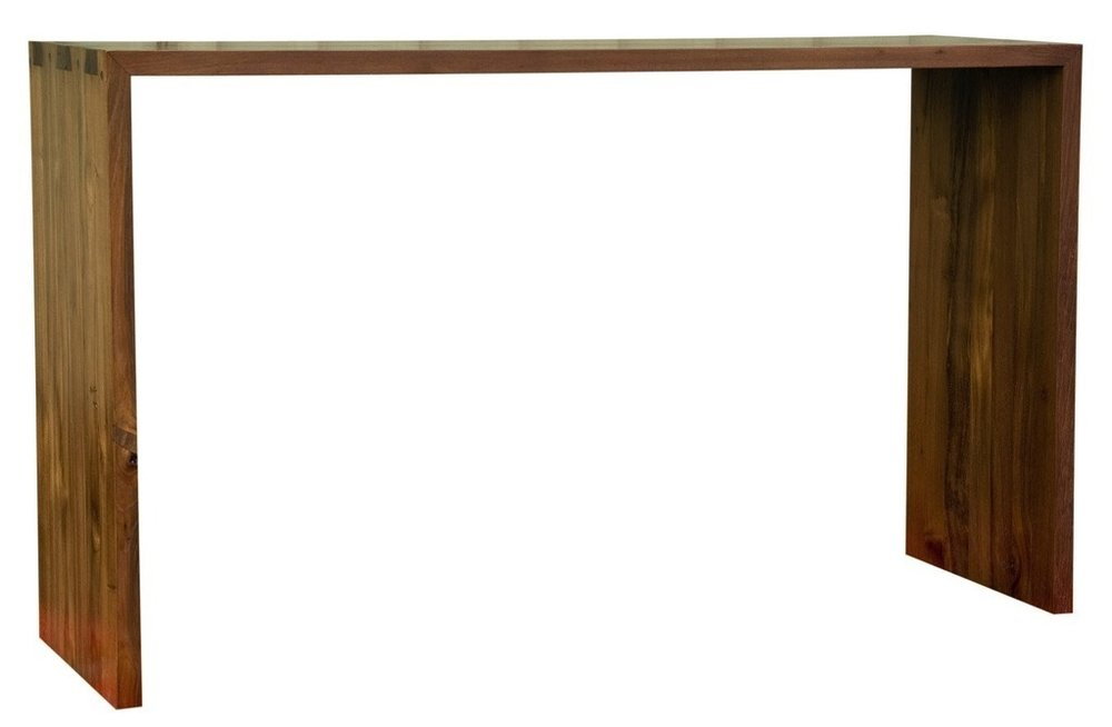 """Simple Console - $638.00  Dimensions: 59"""" x 16"""" x 32""""  Reclaimed Teak - Indonesia"""