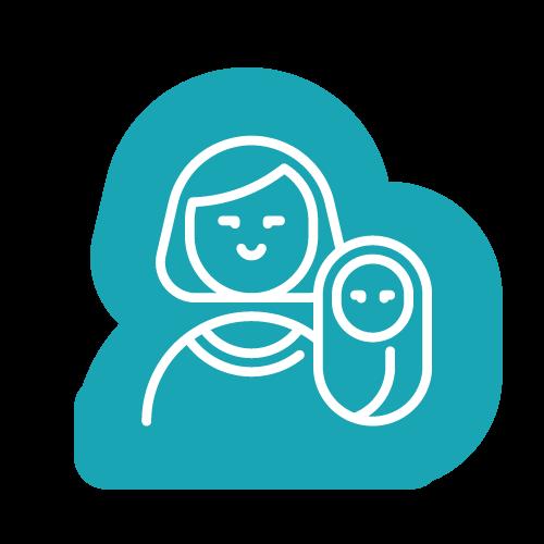 """Psicología - Intervención en el Desarrollo Psicomotor y Socioafectivo de forma individual o grupal. Se realizan sesiones de estimulación adecuada (madre-bebé), que constituyen un espacio de """"contención"""" y de trabajo creado para los niños/as sin y con retraso en el desarrollo o con trastornos permanentes del desarrollo para estimular y fortalecer el vínculo materno-infantil. En este espacio ayudamos a construir el rol maternante, para de esta manera influir positivamente en el desarrollo de estos niños."""