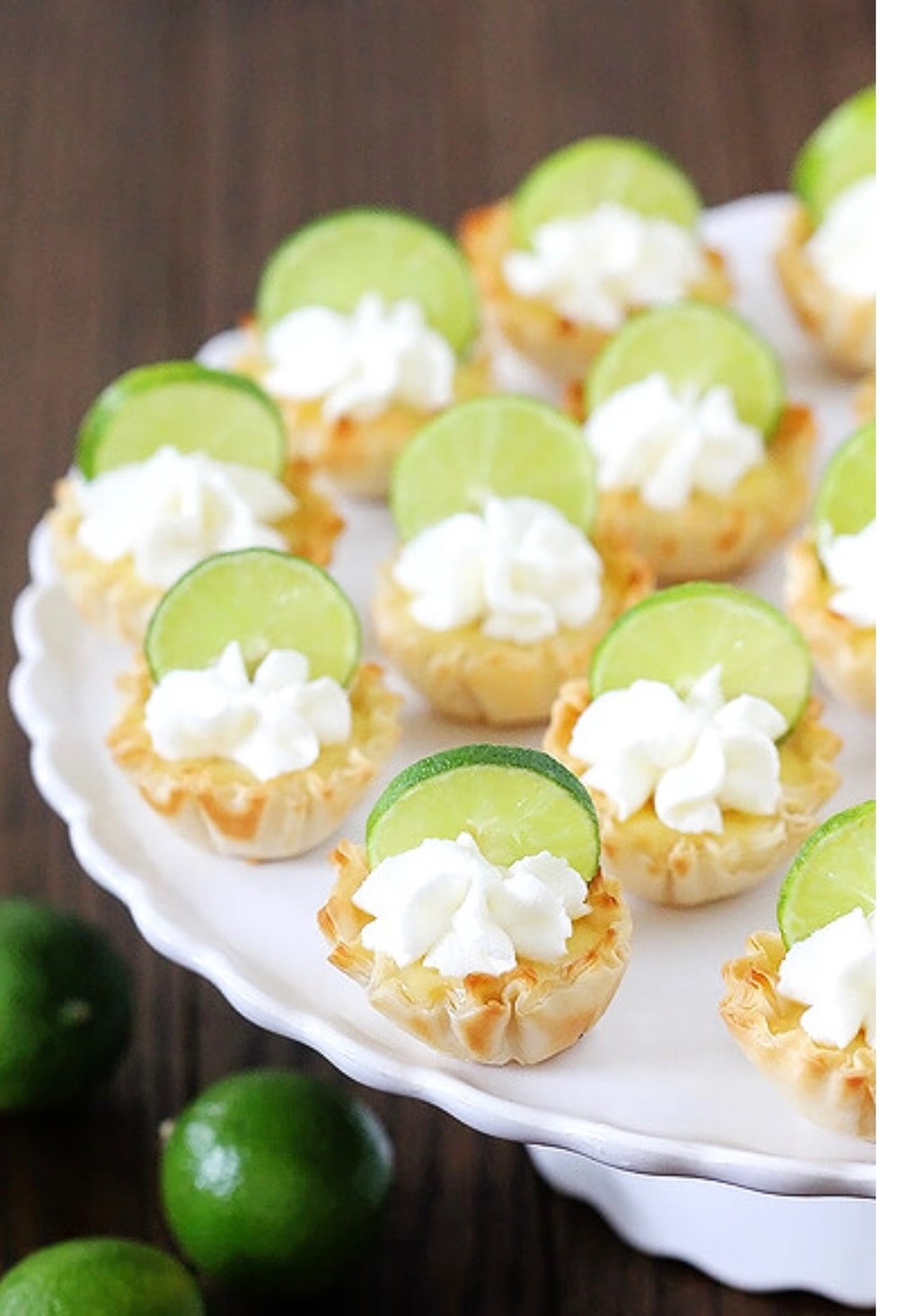mini coconut lime tartletts with whipped creme fraiche jill king styling the new west.JPG