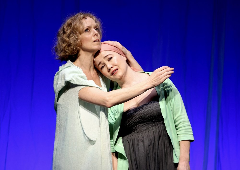 Nancy Anderson (Sid), Faith Sandberg (Myra), New York Musical Festival. Photo: Karen Shih.