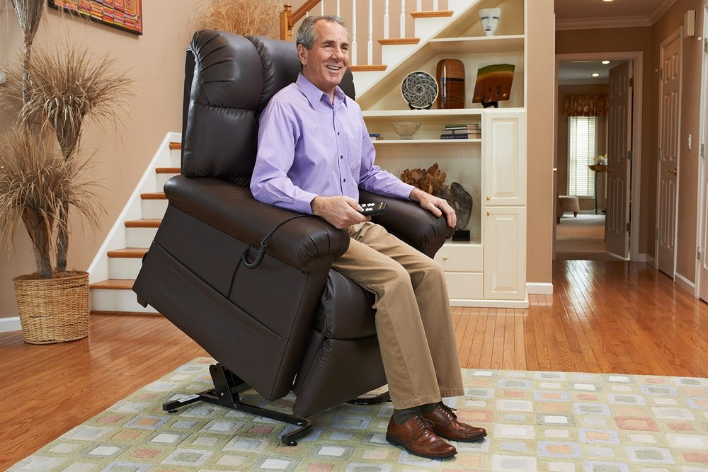 Learn What a Lift Chair Can Do for You! - They look like regular recliners, but lift chairs do so much more!