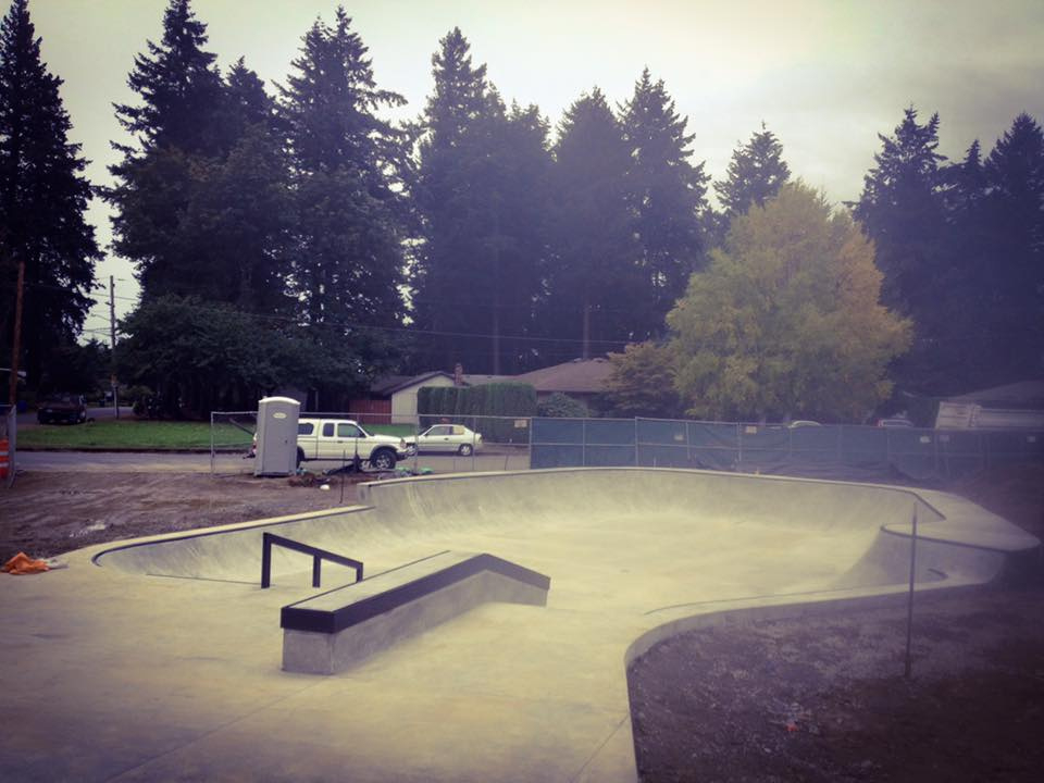 Gateway Skate Spot is located at NE 106th & Halsey. 3,000 Square Feet