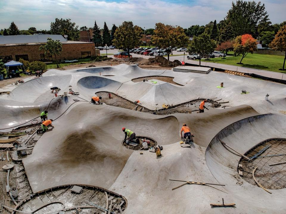 Sterling Heights, Michigan: Winner of 'Most Innovative Concrete Work' in the state of Michigan