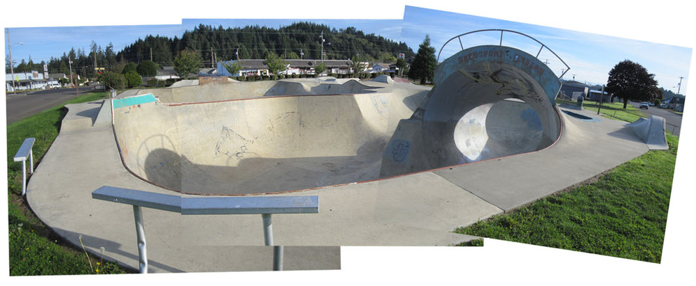 Reedsport, Oregon skatepark built by Airspeed Skateparks