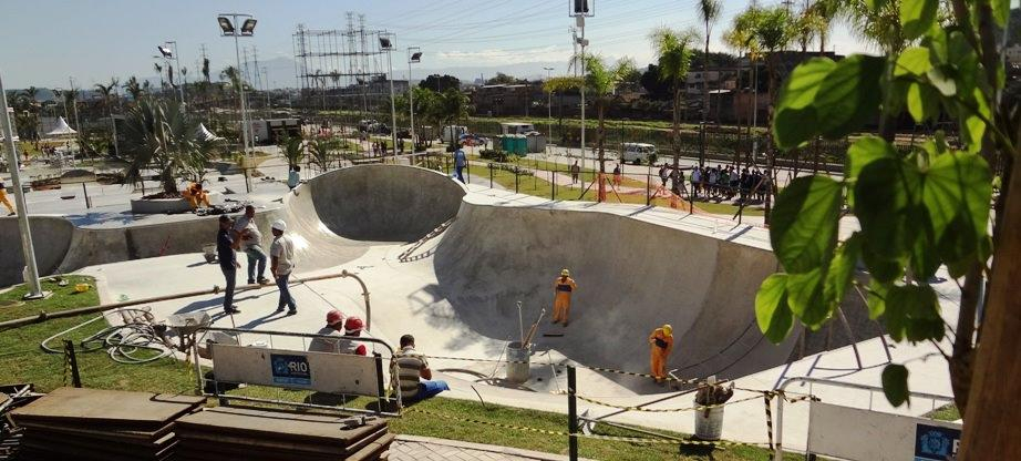 Skatepark in Rio de Janeiro