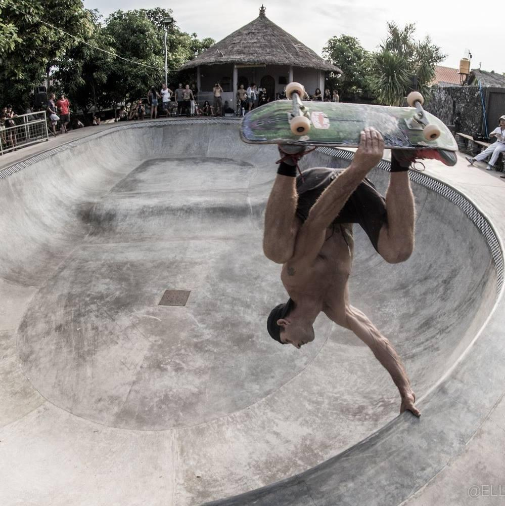 The Buki Bowl Geth built in Bali, Indonesia