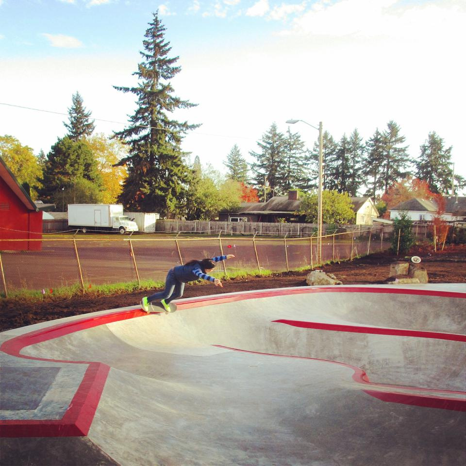 Test runs at the Alberta Spot