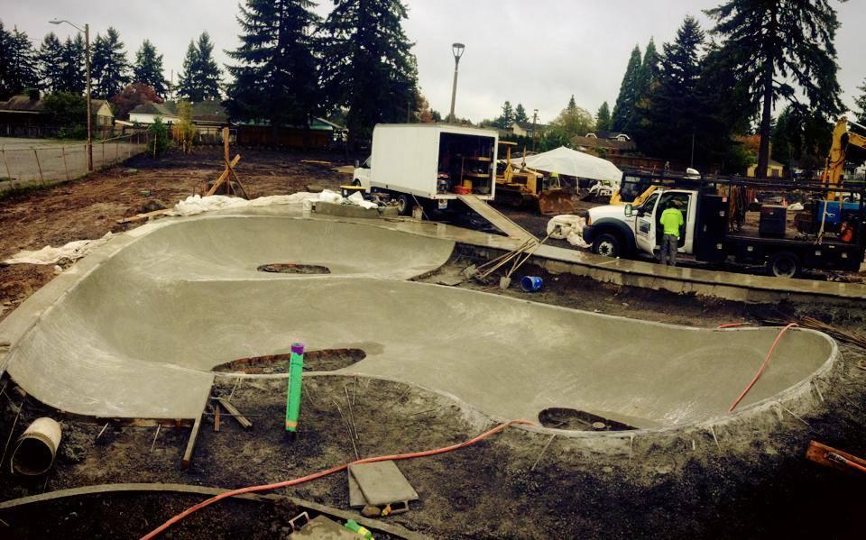 Alberta Skate Spot Construction