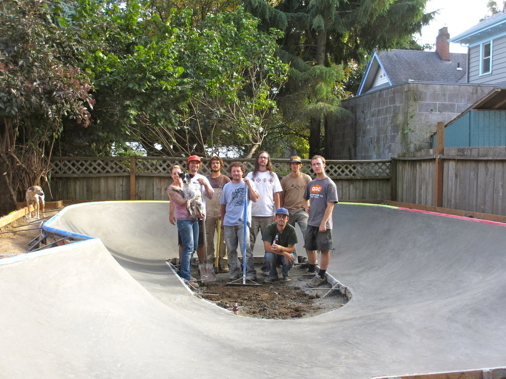Portland mini park crew