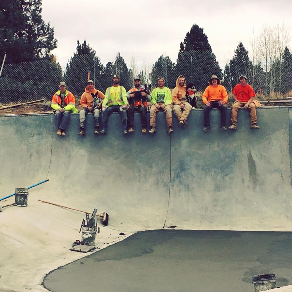 Rockridge Skatepark crew