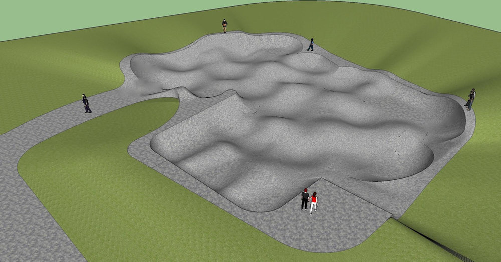 Rockridge Skatepark Concept