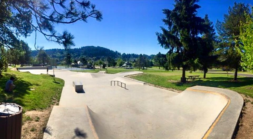Happy Valley, Oregon Skatepark