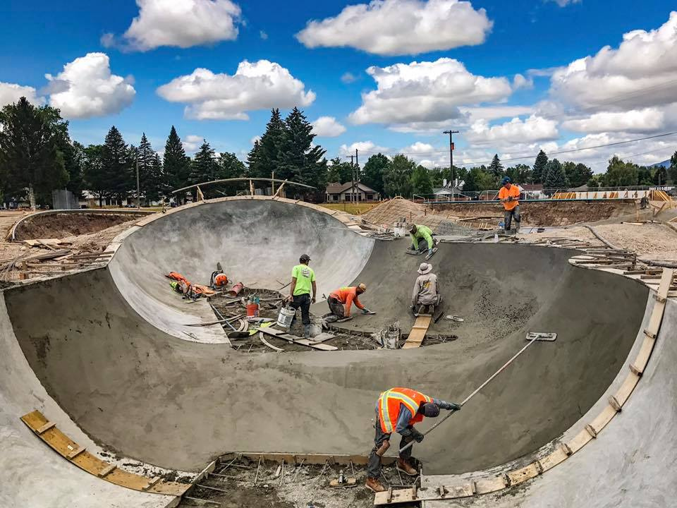Treasure Bowl 2.0 Construction at Lewistown, Montana