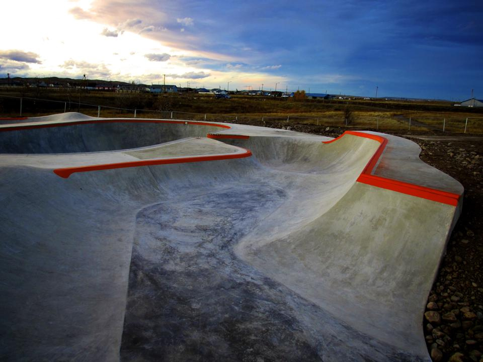 Thunder Park skate shapes with the Big O Capsule Bowl