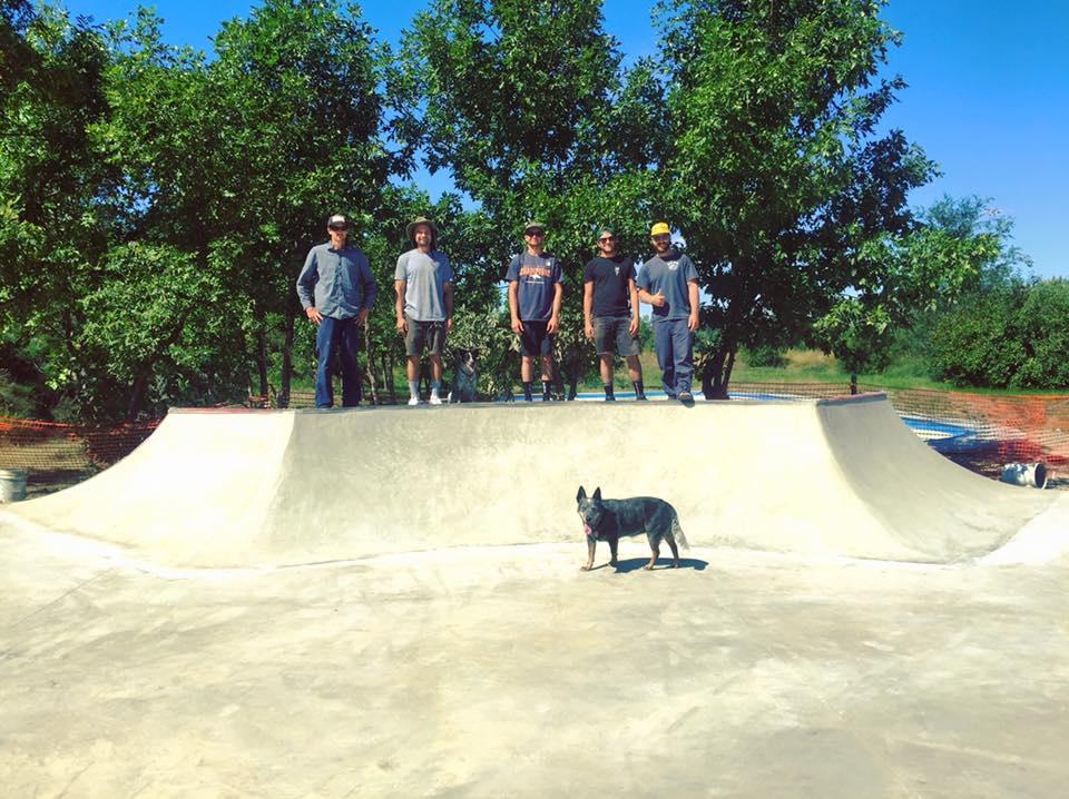 Havre, Montana skatepark addition crew