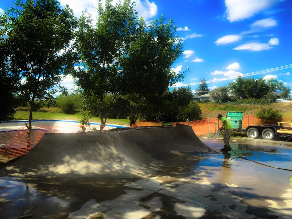 Havre, Montana Skatepark addition